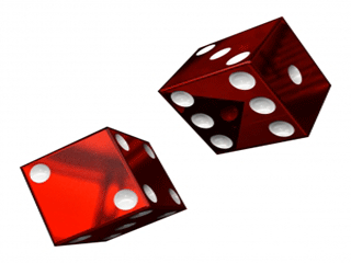 playing with dice