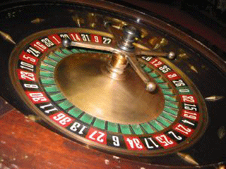 Play roulette at an online casino